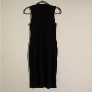Black Midi Bodycon Dress (US 4)